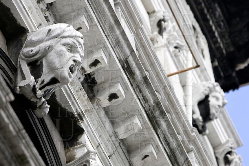 La facciata di Palazzo Labia a Venezia.<br /> Exterior view of Palazzo Labia in Venice.<br /> UPDATE IMAGES PRESS/Riccardo De Luca