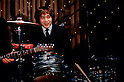 TOKYO - DEC. 9: 'John Lennon' of the Beatles Tribute band, Shirokuma Company, performing at The Cavern Club, Roppongi, Tokyo.  (Photo by Alfie Goodrich/Nippon News)