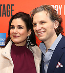 """Stephanie J. Block and Sebastian Arcelus attending the Broadway Opening Night Performance of  """"Lobby Hero"""" at The Hayes Theatre on March 26, 2018 in New York City."""