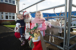 Redrow Homes<br /> <br /> Madison &amp; Kian Bestwick with Father Christmas during his visit to Mon Bank Development.<br /> <br /> 22.11.14<br /> &copy;Steve Pope -FOTOWALES