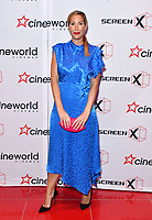 Laura Pradelska<br /> Launch party of Cineworld Group's new Korean-developed technology, using projections on the side of theatre walls to create a 270 degree viewing experience, at Cineworld Greenwich, The O2, London, England, UK.<br /> CAP/JOR<br /> &copy;JOR/Capital Pictures