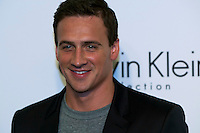 Gold medalist US swimmer Ryan Lochte  Attends the Calvin Klein Collection post show event at Spring Studios on September 12, 2013 New York by VIEWpress