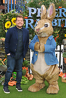 James Corden at the &quot;Peter Rabbit&quot; UK gala premiere, Vue West End cinema, Leicester Square, London, England, UK, on Sunday 11 March 2018.<br /> CAP/CAN<br /> &copy;CAN/Capital Pictures