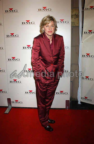 Feb. 8, 2004; Hollywood, CA, USA; Comdeian ELLEN DeGENERES during the BMG 46th Annual Grammy Awards Post-Grammy Gala Celebration held at The Avalon. Mandatory Credit: Photo by Laura Farr/AdMedia. (©) Copyright 2003 by Laura Farr