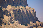 A close up view of part of the thirteen mile long Chinese Wall in Montana's Bob Marshall Wilderness area