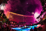 04-16-2016: Red Rock Casino in Las Vegas celebrates it 10 year anniversary with spectacular firewoks show by Grucci ::  photo Larry Burton