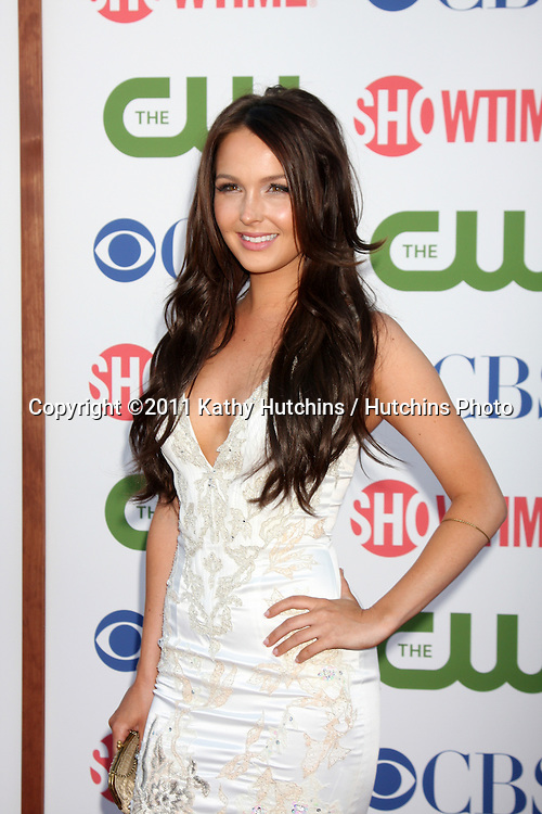 LOS ANGELES - AUG 3:  Camilla Luddington arriving at the CBS TCA Summer 2011 All Star Party at Robinson May Parking Garage on August 3, 2011 in Beverly Hills, CA