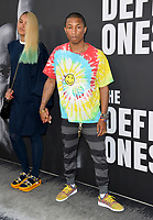 Pharrell Williams &amp; Helen Lasichanh at the premiere for the HBO documentary series &quot;The Defiant Ones&quot; at the Paramount Theatre. Los Angeles, USA 22 June  2017<br /> Picture: Paul Smith/Featureflash/SilverHub 0208 004 5359 sales@silverhubmedia.com