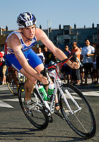 25 JUN 2011 - PONTEVEDRA, ESP - David McNamee (GBR) - Elite Men's European Triathlon Championships in Pontevedra, Spain (PHOTO (C) NIGEL FARROW)