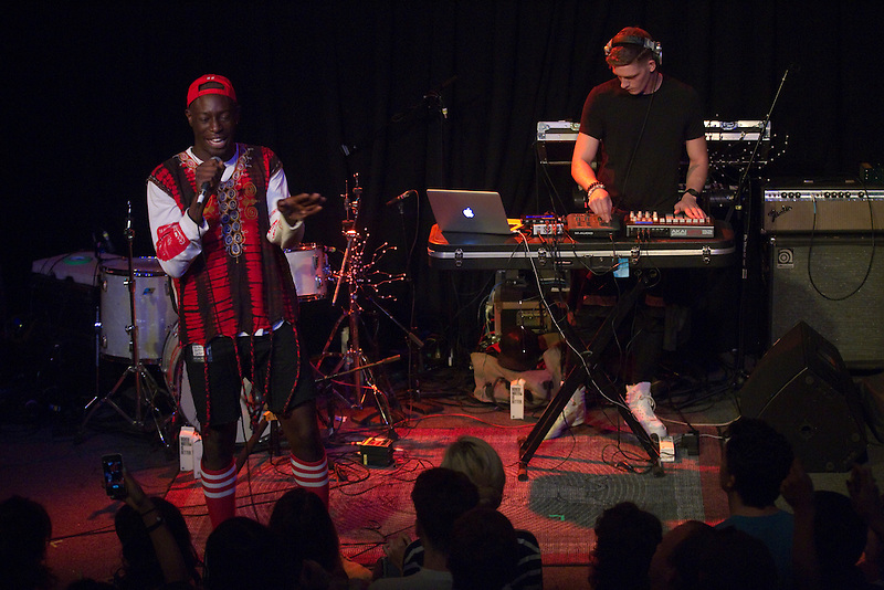 Le1f performs in Portland as part of the Music Festival North West 2013.