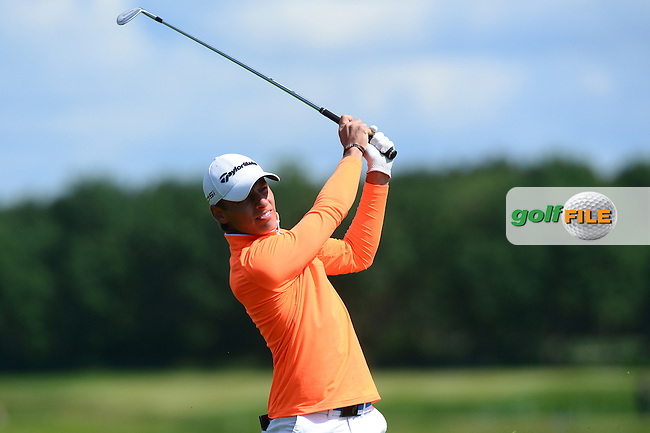 Joakim Lagergren of Sweden during Round 4 of the Nordea Masters, Bro Hof Slott Golf Club, Stockholm, Sweden. 05/06/2016<br /> Picture: Richard Martin-Roberts / Golffile<br /> <br /> All photos usage must carry mandatory copyright credit (&copy; Golffile | Richard Martin- Roberts)