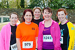 Running in the Killarney Good Friday 5 Miler were l-r: Cathy Jordan, Emma Curnane, Aoife, Mags and Fiona O'Connor all Tralee