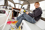 François Gabart (born 23 March 1983 in Saint-Michel-d'Entraygues, France) is a French professional offshore yacht racer who won the 2012-13 Vendée Globe in 78 days 2 hours 16 minutes, setting a new race record.
