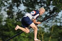 FIERJEPPEN: BUITENPOST: 28-07-2017, FLB topklasse wedstrijd, ©Martin de Jong
