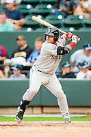 Adalberto Ibarra #20 of the Salem Red Sox at bat against the Winston-Salem Dash at BB&T Ballpark on May 5, 2012 in Winston-Salem, North Carolina.  The Red Sox defeated the Dash 6-4.  (Brian Westerholt/Four Seam Images)