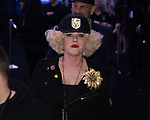 """2019 Las Vegas State of the City Mayor Carolyn Goodman,introduces  Derick Stevenson, of the Golden Gate and the D hotel Casino to announce the newest downtown stand alone casino to be built from the ground up """"CIRCA""""a"""
