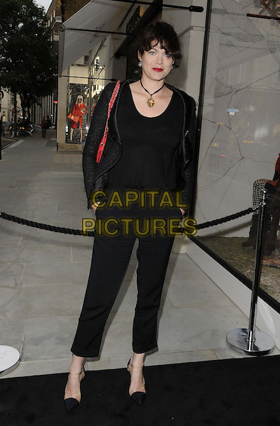 Jasmine Guinness<br /> The Chanel new flagship boutique launch party, Chanel, New Bond St., London, England.<br /> June 10th, 2013<br /> full length black top trousers jacket<br /> CAP/CAN<br /> &copy;Can Nguyen/Capital Pictures