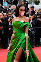 Winnie Harlow attends the screening of 'Blackkklansman' during the 71st annual Cannes Film Festival at Palais des Festivals on May 14, 2018 in Cannes, France. <br /> CAP/GOL<br /> &copy;GOL/Capital Pictures