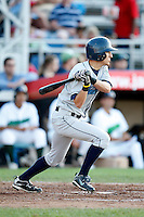 July 16, 2009:  Jay Sferra of the Vermont Lake Monsters during a game at Russell Diethrick Park in Jamestown Jammers, NY.  The Lake Monsters are the NY-Penn League Short-Season Class-A affiliate of the Washington Nationals.  Photo By Mike Janes/Four Seam Images