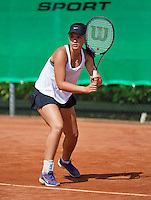 August 9, 2014, Netherlands, Rotterdam, TV Victoria, Tennis, National Junior Championships, NJK,  Liza Lebedzeva (NED)<br /> Photo: Tennisimages/Henk Koster