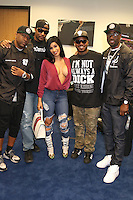 NEWARK, NJ - SEPTEMBER 25: Cardi B & 112 pictured backstage at the Bad Boy Family Reunion concert at The Prudential Center in Newark, New Jersey on September 25, 2016. Credit: Walik Goshorn/MediaPunch