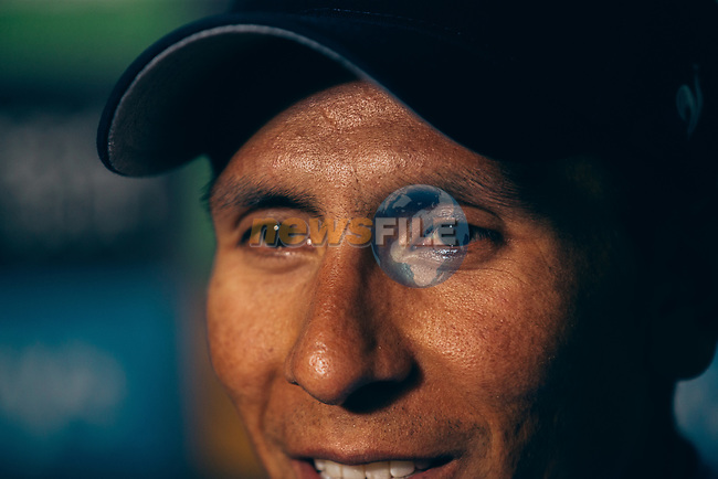 Nairo Quintana (COL) Movistar Team wins Stage 18 of the 2019 Tour de France running 208km from Embrun to Valloire, France. 25th July 2019.<br /> Picture: ASO/Thomas Maheux | Cyclefile<br /> All photos usage must carry mandatory copyright credit (© Cyclefile | ASO/Thomas Maheux)