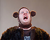 I Want My Hat Back <br /> at Temporary Theatre, National Theatre, London, Great Britain <br /> press photocall <br /> 13th November 2015 <br /> <br /> <br /> Marek Larwood as Bear <br /> <br /> <br /> Photograph by Elliott Franks <br /> Image licensed to Elliott Franks Photography Services