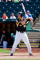 Preston Springer (23) of the Wichita State Shockers at bat during a game against the Missouri State Bears on April 9, 2011 at Hammons Field in Springfield, Missouri.  Photo By David Welker/Four Seam Images