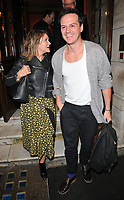 guest and Andrew Scott at the &quot;Labour Of Love&quot; press night, Noel Coward Theatre, St Martin's Lane, London, England, UK, on Tuesday 03 October 2017.<br /> CAP/CAN<br /> &copy;CAN/Capital Pictures