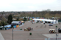 A general view of the West Fan Village. The Clash, Aviva Premiership match, between Bath Rugby and Leicester Tigers on April 7, 2018 at Twickenham Stadium in London, England. Photo by: Rob Munro for Onside Images