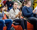 Tabea Alt (Kunstturnerin) zu Gast bei den MHP Riesen /  / MHP Riesen Ludwigsburg - Basketball Loewen Braunschweig easycredit BBL Basketball-Bundesliga MHP Arena Ludwigsburg Baden-Wuerttemberg Deutschland <br /> <br /> Foto © PIX-Sportfotos *** Foto ist honorarpflichtig! *** Auf Anfrage in hoeherer Qualitaet/Aufloesung. Belegexemplar erbeten. Veroeffentlichung ausschliesslich fuer journalistisch-publizistische Zwecke. For editorial use only.