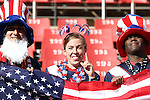 18 JUN 2010:  United States fans in the stands.  The Slovenia National Team played the United States National Team at Ellis Park Stadium in Johannesburg, South Africa in a 2010 FIFA World Cup Group C match.