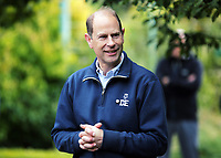 2017 09 21 HRH Prince Edward visits National Botanic Gardens, Wales, UK