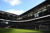 5th November 2017, Wembley Stadium, London England; EPL Premier League football, Tottenham Hotspur versus Crystal Palace; General view of inside Wembley Stadium during the 2nd half between Tottenham Hotspur versus Crystal Palace