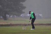 Robert Karlsson (SWE) on the 2nd fairway during Round 4 of the Sky Sports British Masters at Walton Heath Golf Club in Tadworth, Surrey, England on Sunday 14th Oct 2018.<br /> Picture:  Thos Caffrey | Golffile<br /> <br /> All photo usage must carry mandatory copyright credit (&copy; Golffile | Thos Caffrey)