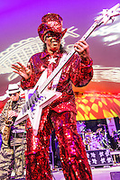 Bootsy Collins performs at Voodoo Fest 2012 in New Orleans, LA.