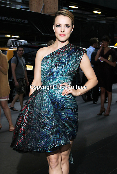 July 22, 2014: Rachel McAdams at the premiere of Lionsgate &amp; Roadside Attractions A Most Wanted Man at the MOMA in New York.<br /> Credit: MediaPunch/face to face<br /> - Germany, Austria, Switzerland, Eastern Europe, Australia, UK, USA, Taiwan, Singapore, China, Malaysia, Thailand, Sweden, Estonia, Latvia and Lithuania rights only -