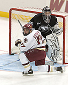 A pair of NHL offspring - Joe Rooney (Steve) and Tyler Sims (Al)  The Boston College Eagles defeated the Providence College Friars 3-2 in regulation on October 29, 2005 at Kelley Rink in Conte Forum in Chestnut Hill, MA.  It was BC's first Hockey East win of the season and Providence's first HE loss.
