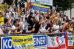 20.07.2017, Silberstadt Arena, Schwaz, AUT, FSP, Borussia M&ouml;nchengladbach vs Leeds United, im Bild Leeds supporter<br /> <br /> Foto &copy; nordphoto / Hafner