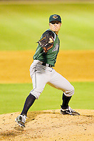 Augusta GreenJackets relief pitcher Steven Neff #19 in action against the Kannapolis Intimidators at CMC-Northeast Stadium on May 3, 2012 in Kannapolis, North Carolina.  The Intimidators defeated the GreenJackets 11-1.  (Brian Westerholt/Four Seam Images)