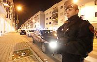 Napoli 10 arresti per droga e usura sono stati efettuati dai carabinieri nel quartiere di scampia sequestrati anche attivita commerciali per 2.5 milioni di euro FOTO CIRO DE LUCAAGNFOTO