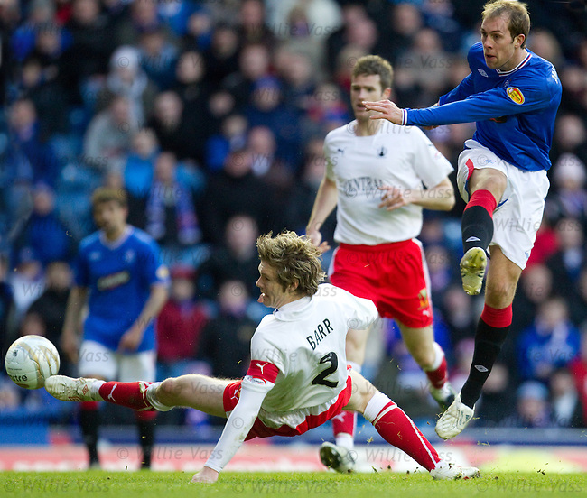 Steven Whittaker scores for Rangers