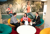 29/02/2012 The People Team room at the Standard Life building on St Stephens Green, Dublin. Photo: Gareth Chaney Collins