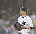 Hiroki Kuroda (Yankees),<br /> JULY 12, 2013 - MLB :<br /> Pitcher Hiroki Kuroda of the New York Yankees during the Major League Baseball game against the Minnesota Twins at Yankee Stadium in The Bronx, New York, United States. (Photo by AFLO)