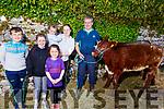 Jonathan, Miriam, Ava and Paudi O'Sullivan, Lauren O'Rourke and Kayley O'Connor from Ballyhar at the Kingdom County Fair on Sunday.
