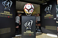 Portland, OR - Saturday September 22, 2018: NWSL Finals: North Carolina Courage vs Portland Thorns FC at Providence Park.