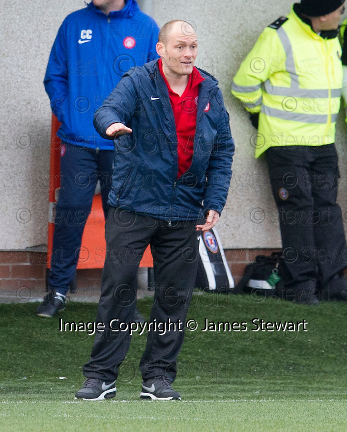 Hamilton manager Alex Neil.