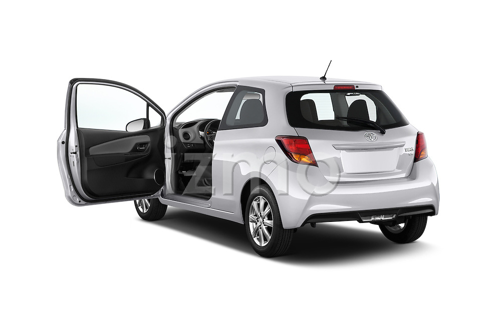Car images of a 2015 Toyota Yaris LE 3-Door Liftback AT 3 Door Hatchback Doors