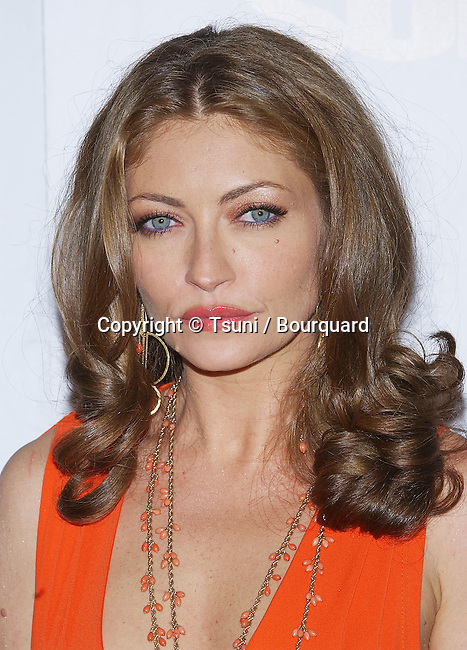 Rebecca Gayheart arriving at the After Sunser Premiere at the Chinese Theatre in Los Angeles. November 4, 2004.