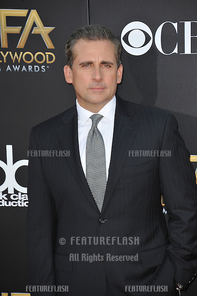 Steve Carell at the 2014 Hollywood Film Awards at the Hollywood Palladium.<br /> November 14, 2014  Los Angeles, CA<br /> Picture: Paul Smith / Featureflash